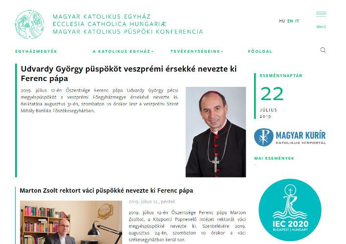 katolikus.hu web portál